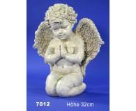betender Engel kniend