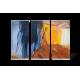Roll Up Display 3-teilig, Breite 85-120cm, Höhe 200-240cm und Motiv wählbar