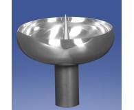 Kerzentülle poliert 125mmØ 40mm hoch