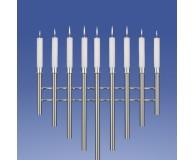 Brilliant Leuchter 9-Flammer, V-Form