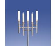 Saphir Leuchter 5-Flammer, Welle*