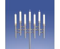 Saphir Leuchter 7-Flammer, Welle*