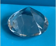 Glas-Diamantform 80mmØ 50mm hoch