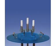 Urnenkandelaber Satin 3-flammig Acrylfarbe wählbar
