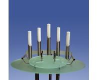 Urnenkandelaber Satin 5-flammig Acrylfarbe wählbar