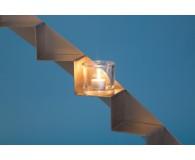 Teelichtglas Zylinder 9cmØ 8cm hoch