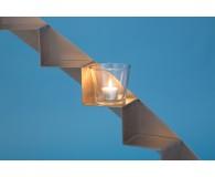 Teelichtglas Zylinder 9cmØ 9cm hoch
