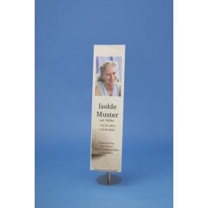 Ersatz-Acrylplatte bzw. Acryltasche für Banner Maße wählbar *