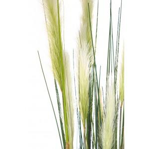 ROHRKOLBEN (TYPHA) Kunstpflanze, 183 cm