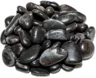 ROCKS Flusskiesel, 2-4 cm, schwarz, 5 kg