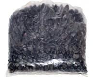 ROCKS Flusskiesel, 2-4 cm, schwarz, 20 kg