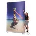 Roll Up Display 1-teilig EXTREME 150cm breit, Höhe und Motiv wählbar